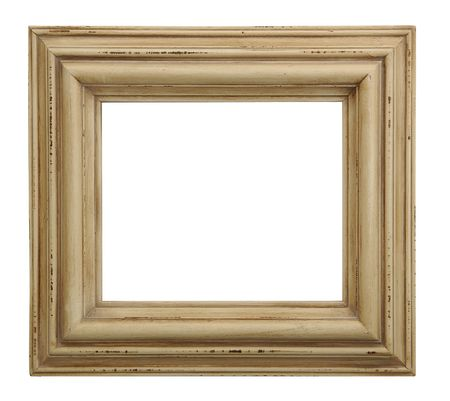 Tarnished Wooden Picture Frame photo