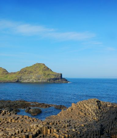 Giants Causeway in Antrim, Northern Ireland