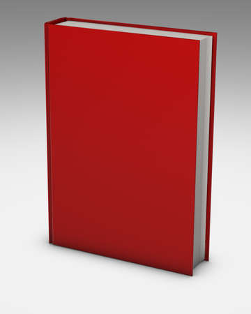 red book presentation for marketing purposes Stock Photo - 23405882