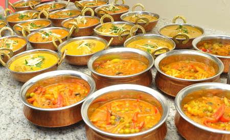 Indian food Foto de archivo