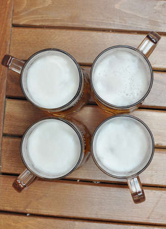 tapper: Beers Stock Photo
