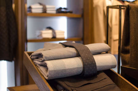 men's clothing: A luxury store with mens clothing.