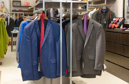 clothing store: Man clothing store