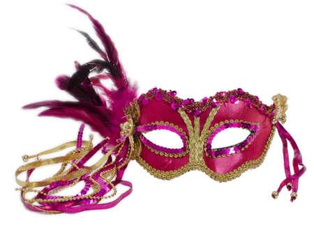 female mask: Venetian mask