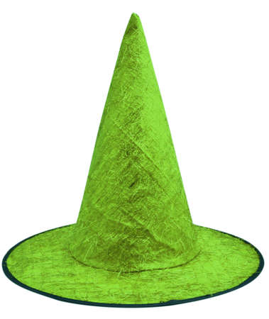tapering: Green hat