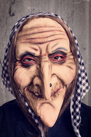 czarownica: Brzydka czarownica - przebranie Zdjęcie Seryjne