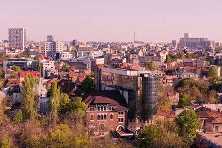 Bucharest - rooftop view