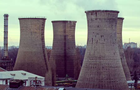 cooling towers: Cooling towers Stock Photo