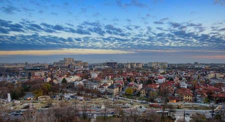 bucuresti: Bucharest cityscape