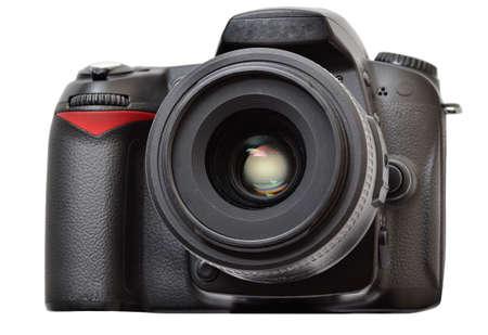 dslr: DSLR camera with lens