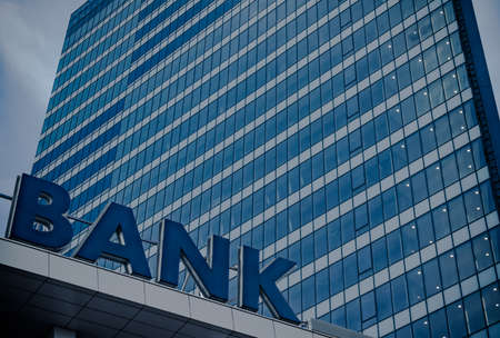 은행 건물 스톡 콘텐츠 - 50747102