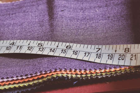 alterations: Tailor meter Stock Photo