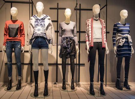 Vrouwen modewinkel
