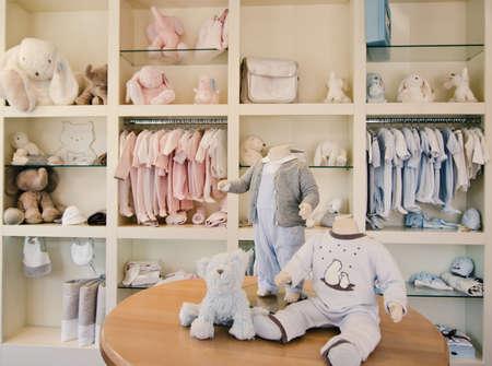 Děti obchod s oblečením