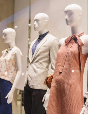 Fashion store display 스톡 콘텐츠