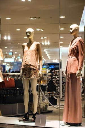 shop display: Women clothing shop display