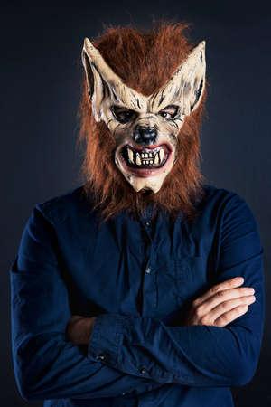 Scary Wolf Maske