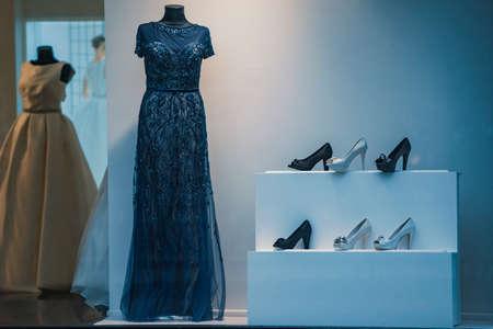 women clothing shop Stock Photo