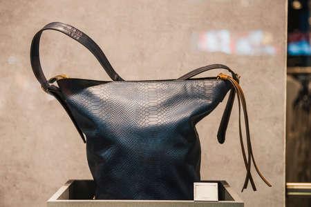 Women handbags in a store in London