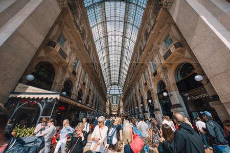 Milan, Italy - September 23, 2017: