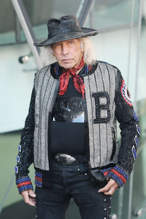 Milan, Italy - February 24, 2019: Street style - Businessman James Goldstein after a fashion show during Milan Fashion Week - MFWFW19