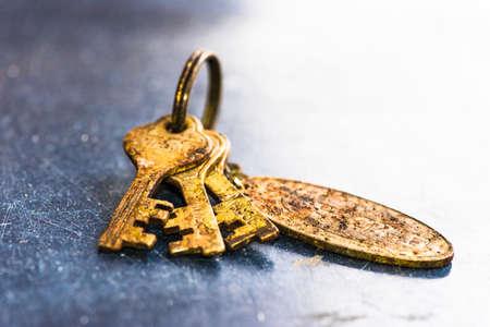 iron oxide: Rust in Keys Stock Photo