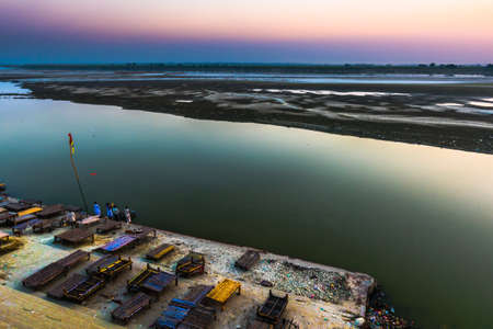 Shringverpur where Lord Rama cross the river Ganges on his way to exile along with Sita and Lakshmana
