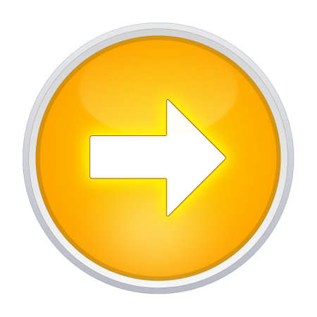 freccia destra: a destra il pulsante freccia rotondo giallo