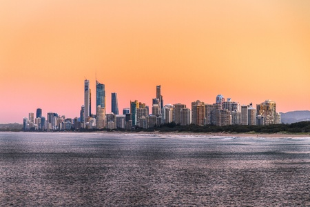 View of Surfers Paradise photo