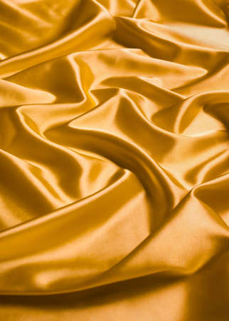Abstract yellow silk background photo