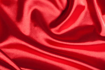 Abstract red silk background photo