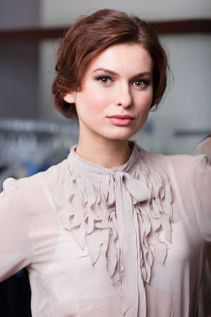 show off: Portrait of a fashionable young woman Stock Photo