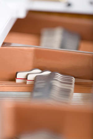 Close up of piano chords. Concept of music and enjoyment Stock Photo - 22849058