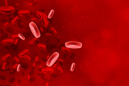 antiviral: Red blood cells - human immune system. Healthcare concept