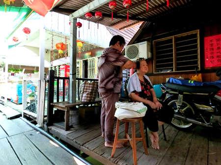 стиль жизни: Образ жизни пожилых людей в Chew Jetty, Пенанг
