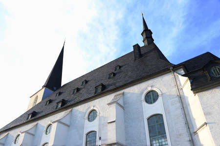 famous st peter and paul church herder in weimar
