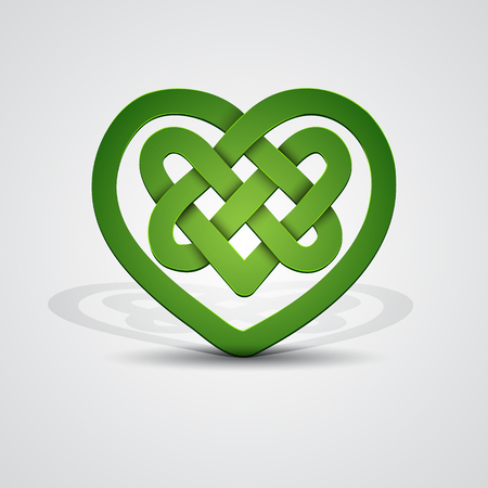 celtic: Celtic heart shape