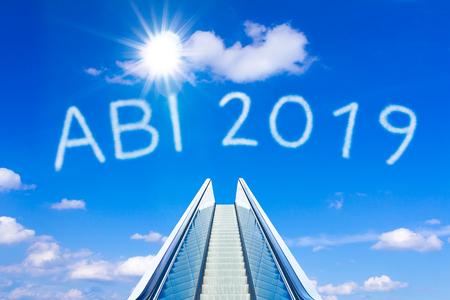 escalator sky abi abitur 2019 german Фото со стока