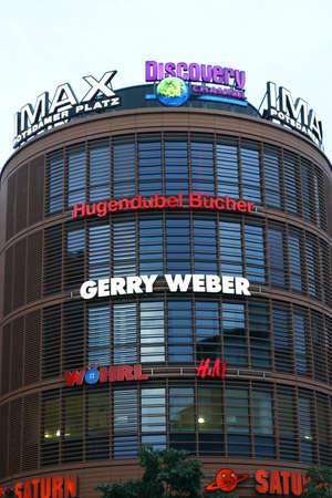 weber: Cinema Tower at Potsdamer Platz, Berlin Potsdamer Platz