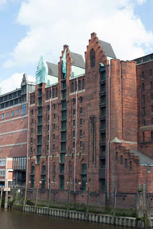 warehouse building: Storage building in the warehouse district of Hamburg Stock Photo