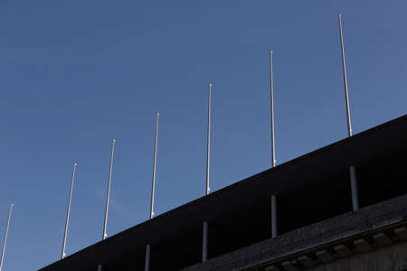 flagpoles: Number of flagpoles at the Olympic Stadium in Berlin