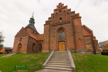 stepped: Vor Frue Kirke in Svendborg, Fyn, Denmark