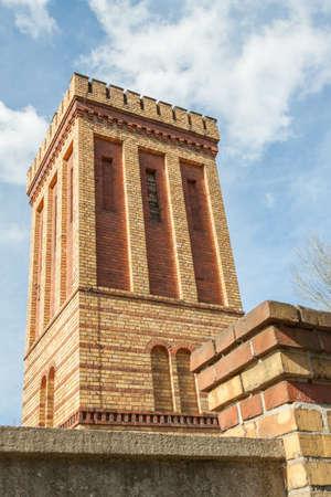 crown spire: Historical rainwater storage in Potsdam