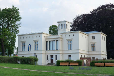 renovated: Renovated Villa Schningen at the Glienicke Bridge Editorial