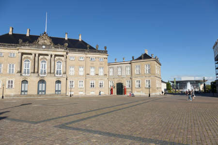 royal family: City Palace of the Danish royal family in the center of Copenhagen