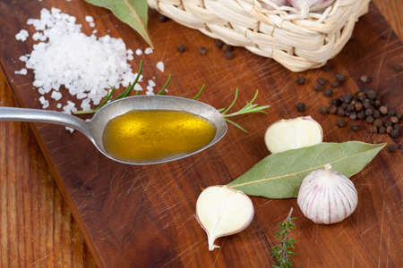 spoonful: Chinese garlic with a spoonful of oil