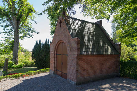 Small chapel in Skelby near Gedser Denmark Falster