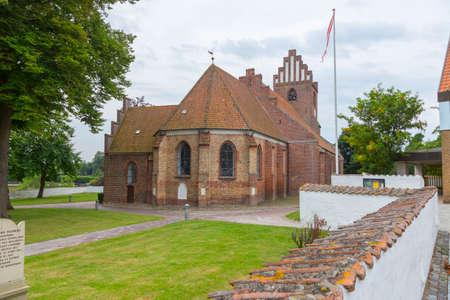 totaled: Vor Frue Church in the town of Vordingborg Zealand Denmark