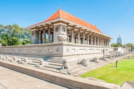 Independence Memorial Hall, gebouwd ter herdenking van de onafhankelijkheid van Sri Lanka