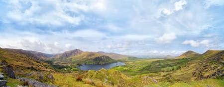 Landscape with Glanmore lake.Freshwater lake in the southwest of Ireland. It is located on the Beara Peninsula in County Kerry Reklamní fotografie